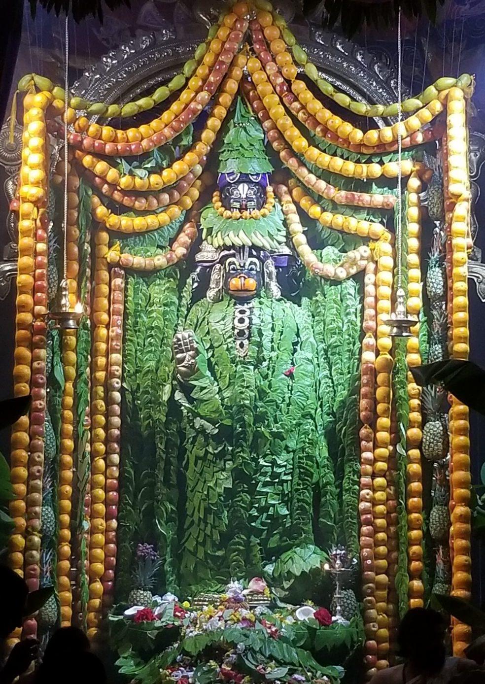 hanuman betel leaves alankaram